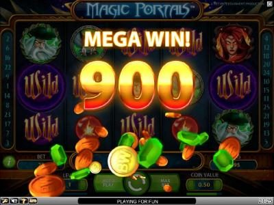 Buran featuring the Video Slots Magic Portals with a maximum payout of $5,000