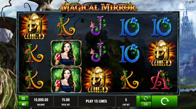 Play slots at Win Windsor: Win Windsor featuring the Video Slots Magical Mirror with a maximum payout of $56,250