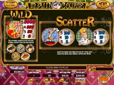Mission 2 Game featuring the Video Slots Main Course with a maximum payout of Jackpot