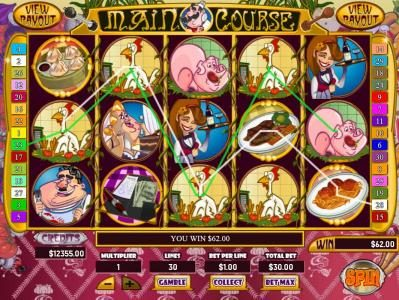 Play slots at Mission 2 Game: Mission 2 Game featuring the Video Slots Main Course with a maximum payout of Jackpot