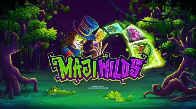 Maji Wilds :: Splash screen - game loading