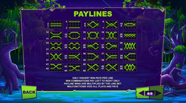 Maji Wilds :: Paylines 1-50