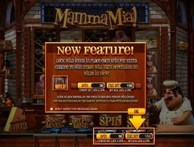 Play slots at Fruity Casa: Fruity Casa featuring the Video Slots Mamma Mia with a maximum payout of $2,500