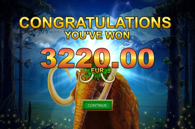 Mammoth Chase :: Total Free Spins Payout