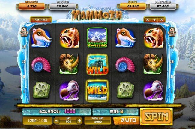 Mammoth :: Main Game Board