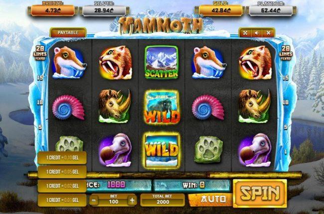 Mammoth :: Betting Options
