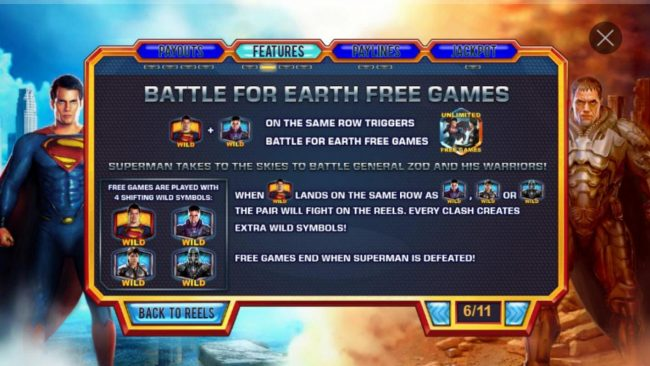 Man of Steel :: Battle for Earth Free Games Rules