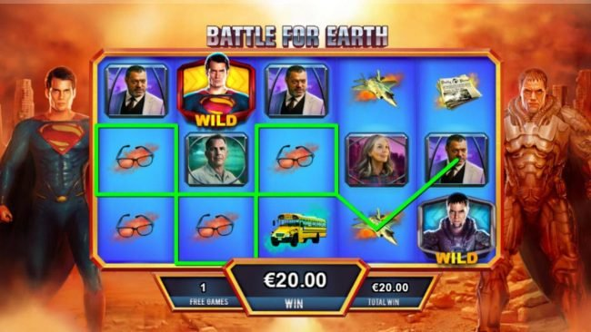 Man of Steel :: Battle for Earth Free Games Board