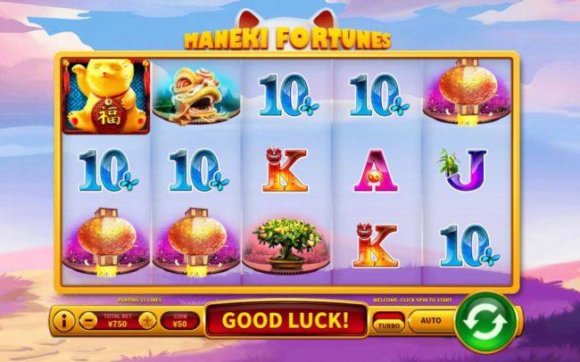 Maneki Fortunes :: Main Game Board