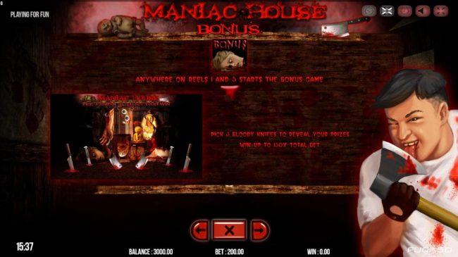 Maniac Club :: Bonus Game Rules