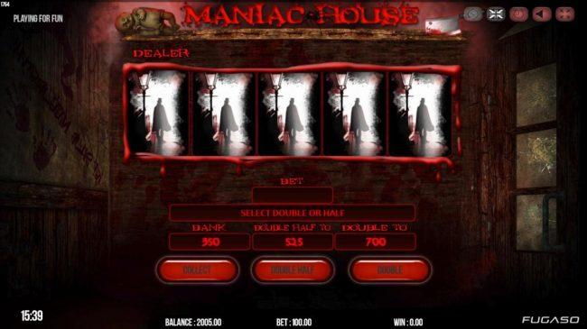 Maniac Club :: Gamble Feature Game Board
