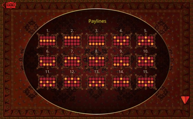 14 Red Casino featuring the Video Slots March of the Mehteran with a maximum payout of $75,000