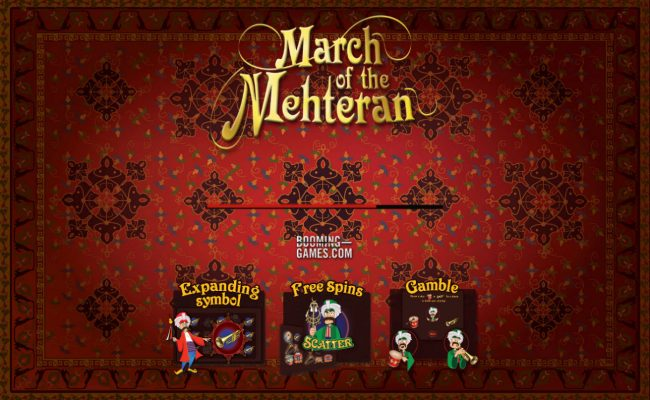 Play slots at Bet it All: Bet it All featuring the Video Slots March of the Mehteran with a maximum payout of $75,000