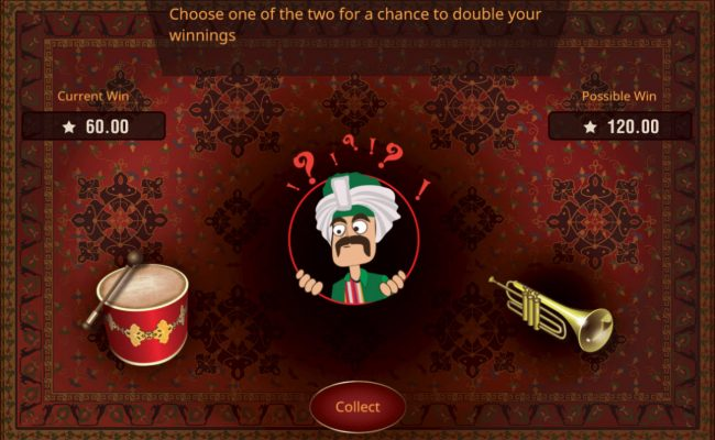 Prime Slots featuring the Video Slots March of the Mehteran with a maximum payout of $75,000