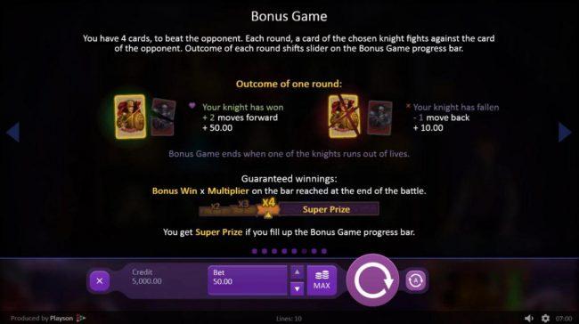 Marioni Show :: Bonus Game Rules