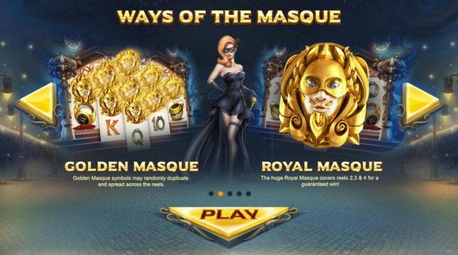 Masquerade :: Ways of the Masque