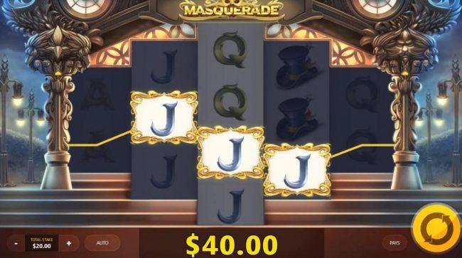 Masquerade :: Multiple winning paylines