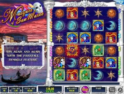 Jetbull featuring the Video Slots Masques of San Marco with a maximum payout of $250,000
