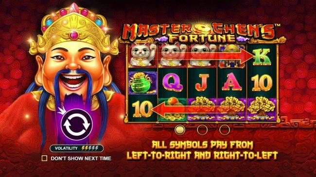 Play slots at Casino States: Casino States featuring the Video Slots Master Chens Fortune with a maximum payout of $475,000