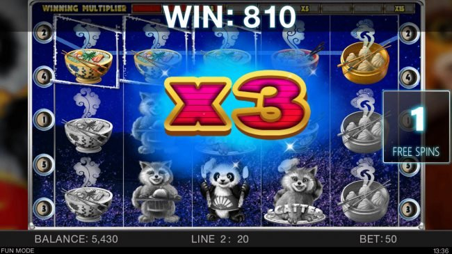 Play slots at Kingbit Casino: Kingbit Casino featuring the Video Slots Master Panda with a maximum payout of $12,000