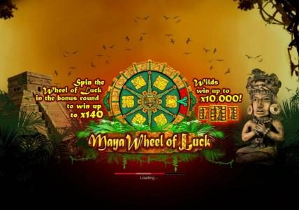 Play slots at 1BET: 1BET featuring the Video Slots Maya Wheel of Luck with a maximum payout of $2,500,000