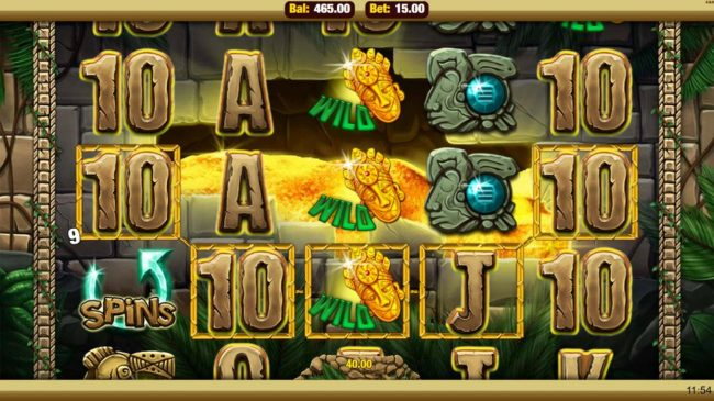 Mobireels featuring the Video Slots Mayan Marvels with a maximum payout of $7,500