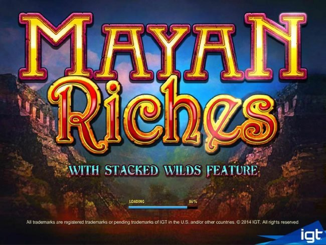 Caesars featuring the Video Slots Mayan Riches with a maximum payout of $250,000