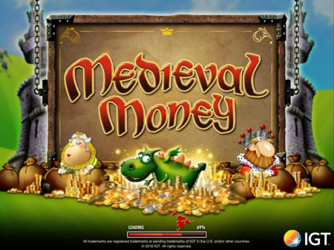Play slots at Vegas Spins: Vegas Spins featuring the Video Slots Medieval Money with a maximum payout of $250,000