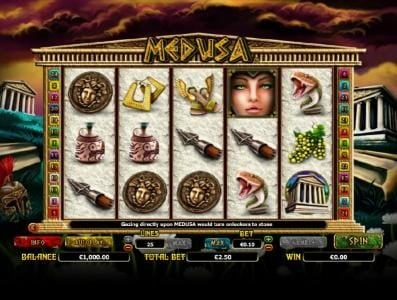 Play slots at Norskespill: Norskespill featuring the Video Slots Medusa with a maximum payout of $10,000