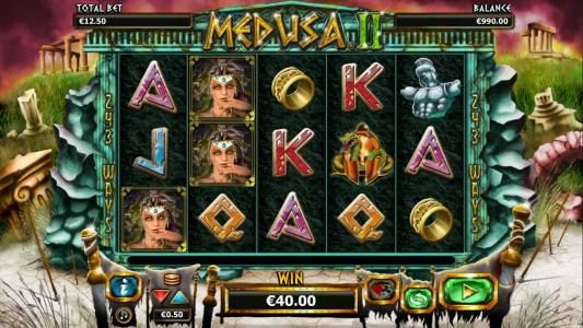Casino 440 featuring the Video Slots Medusa II with a maximum payout of $25,000