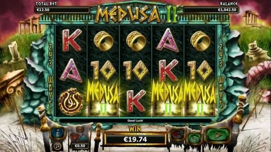 Play slots at Enzo Casino: Enzo Casino featuring the Video Slots Medusa II with a maximum payout of $25,000