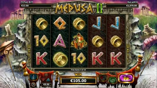 Play slots at Joy Casino: Joy Casino featuring the Video Slots Medusa II with a maximum payout of $25,000