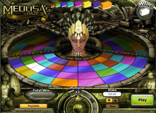 Come On featuring the Video Slots Medusa's Gaze with a maximum payout of $120,000