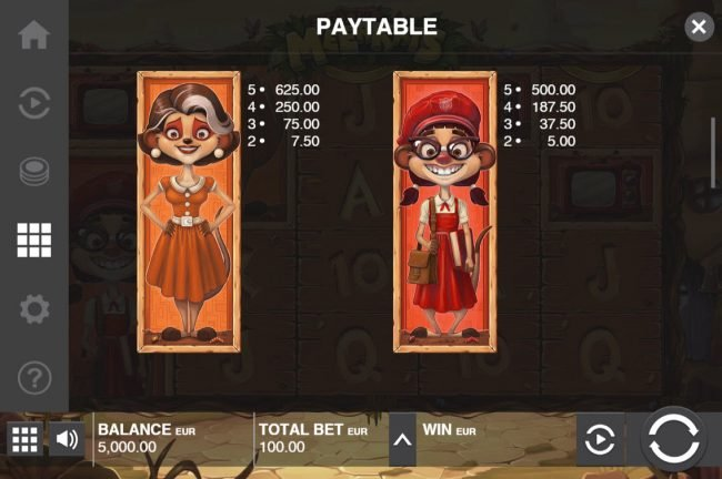 Play slots at Casino Luck: Casino Luck featuring the Video Slots Meet the Meerkats with a maximum payout of $30,000