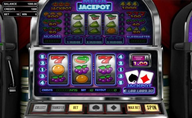 Play slots at Top Bet: Top Bet featuring the Video Slots Mega Jackpot with a maximum payout of Jackpot