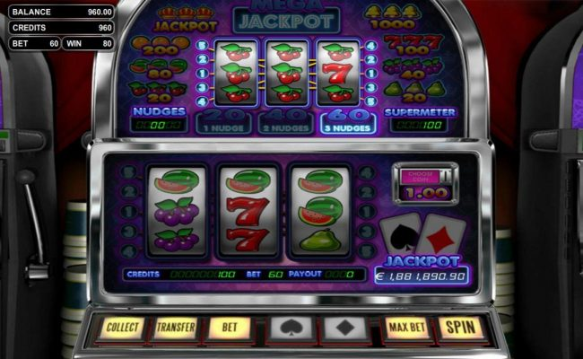 Riviera Play featuring the Video Slots Mega Jackpot with a maximum payout of Jackpot