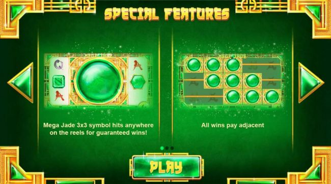 Play slots at Lucky Dino: Lucky Dino featuring the Video Slots Mega Jade with a maximum payout of $25,000