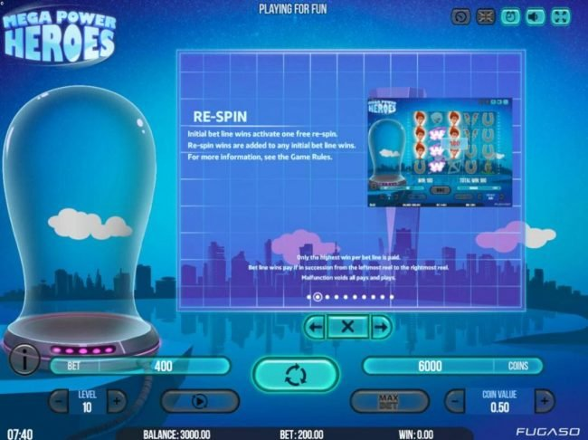 Boo Casino featuring the Video Slots Mega Power Heroes with a maximum payout of $200,000