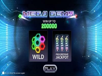 Drake featuring the Video Slots Mega Gems with a maximum payout of Jackpot