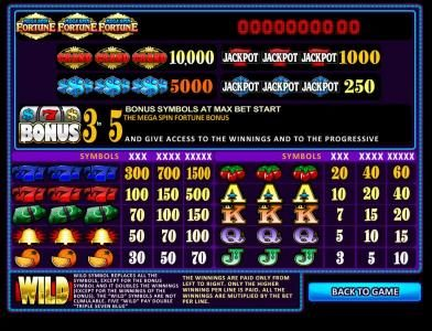 Casdep featuring the Video Slots Mega Spin Fortune with a maximum payout of Jackpot