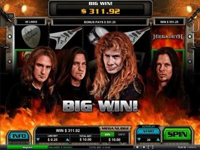 $311.92 big win jackpot