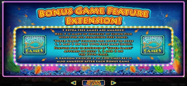 Slotsville featuring the Video Slots Megaquarium with a maximum payout of $12,500