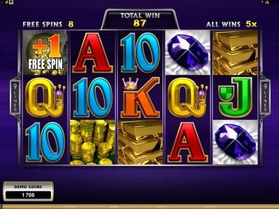 Jackpot Mobile featuring the Video Slots MegaSpin - Break Da Bank Again with a maximum payout of $22,500
