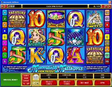 Play slots at Bet At Casino: Bet At Casino featuring the Video Slots MegaSpin - Major Millions with a maximum payout of Jackpot