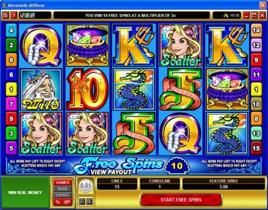 Grand Mondial featuring the Video Slots MegaSpin - Major Millions with a maximum payout of Jackpot