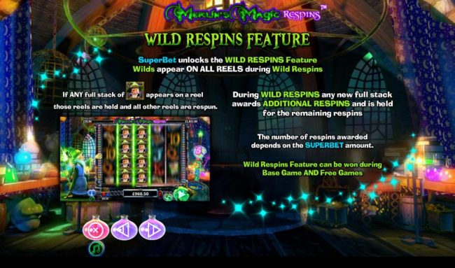 Wild Respins Feature Rules