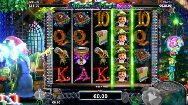 Play slots at PropaWin: PropaWin featuring the Video Slots Merlin's Magic Respins Christmas with a maximum payout of $10,000