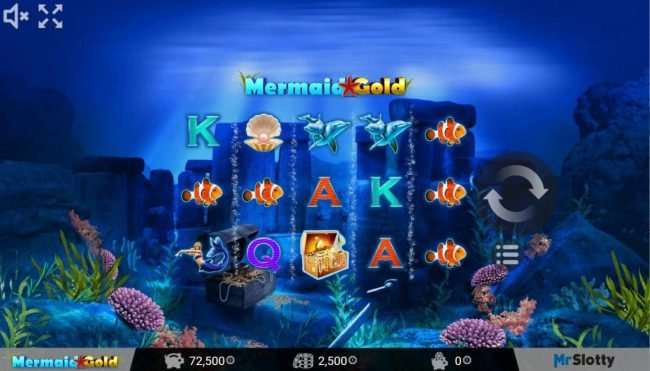 Play slots at Joker Casino: Joker Casino featuring the Video Slots Mermaid Gold with a maximum payout of $200,000