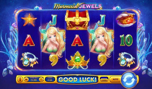 Mermaid Jewels :: Main Game Board
