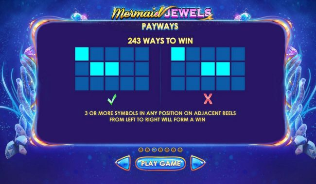 Mermaid Jewels :: 243 Ways to Win
